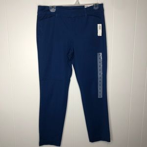 NWT Old Navy blue Pixie Ankle Pants. Size 8